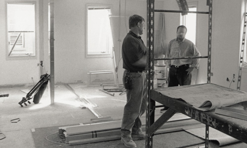Construction at 7 Haviland